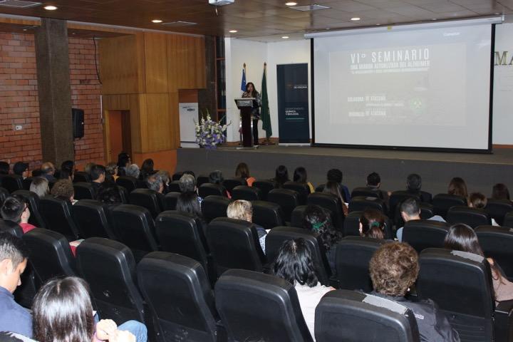 """Universidad de Atacama realizó VI Seminario """"Una Mirada Actualizada del Alzheimer"""